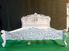 Super King Size Bed, Superking Bed, King Diamond, King Beds, Rococo, French Style, Bespoke, Master Bedroom, Colours