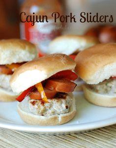 Cajun Pork Slider