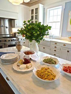 Aerin Lauder Southampton kitchen