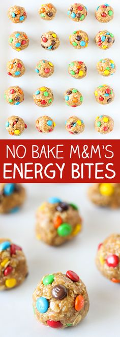 These No Bake M&M'S Energy Bites are one of my family's favorite snacks. They are so easy to make and packed with wholesome and delicious ingredients. You can easily double and triple this recipe and store them in the refrigerator for up to a week. They are perfect for a grab and go breakfast, or …
