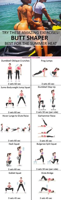 Booty Workout | Posted by: CustomWeightLossProgram.com