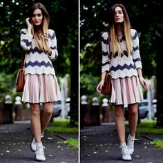 Pleted sweater