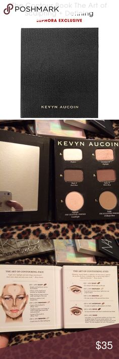 KEVYN AUCOIN ~ CONTOURING PALETTE KEVYN AUCOIN ~ THE CONTOUR BOOK ~ THE ART OF SCULPTING + DEFINING ~ NEW ~  What it does: This palette contains detailed instructions and all the shades needed to redefine the look of your face. Make cheekbones appear stronger, your face appear slimmer, or just create a more sculpted appearance. The Sculpting Powder allows you to contour your face like a pro without looking overly made up. Get the look by following the sculpting guidelines with the included…