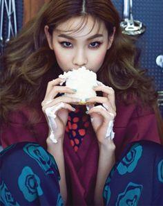Jung Hoyeon and Jung Hyuk by J. Dukhwa for Vogue Girl Korea Feb 2015