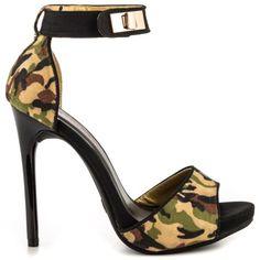Irisa - Camouflage by Shoe Republic