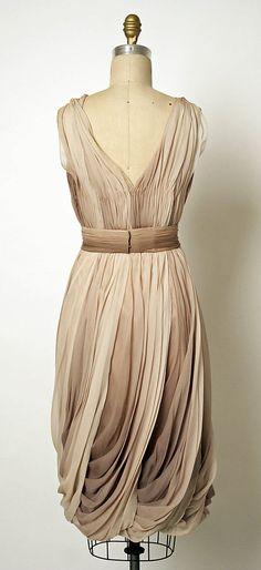 Dress, Evening  Jean Dessès  (French, born Eqypt, 1904–1970)