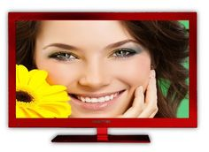 Save $240.00 on Sceptre E243RV-FHD 23-Inch LED-Lit 1080p 60Hz HDTV (Red); only $159.99 + Free Shipping