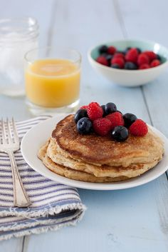 Easy Homemade Whole Grain Pancake Mix