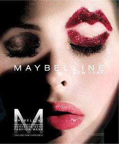 Charlotte Kemp Muhl for Maybelline Kemp Muhl, Extreme Makeup, Eyes Lips Face, Fantasy Makeup, Creative Makeup, Eye Make Up, Red Lipsticks, Makeup Art, Makeup Inspiration