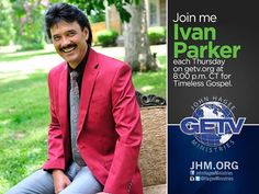 Watch Ivan Parker online at getv.org 8:00 p.m. CT for Timeless Gospel. If you're a fan of great Gospel music, you will LOVE this show...and Ivan is always a fan favorite!