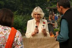 The Prince of Wales and The Duchess of Cornwall in India: Day three