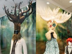 """Gods and Nymphs of the Forest"" Windows by Alex Moser at STEFFL Department Store, Vienna – Austria » Retail Design Blog"