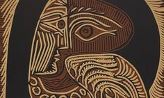 Admiration … a detail from Picasso's linocut of his wife Jacqueline. Photograph: © Succession Picasso/DACS 2013