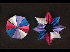 Origami: Círculo Mágico ( Magic Circle ) - YouTube