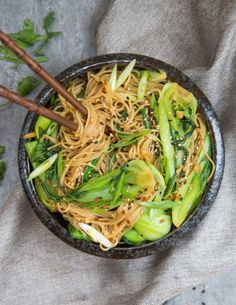 This vegan pad see ew is easy to make and so delicious! Experience the flavours of Thailand in this healthy vegan take on the classic dish!