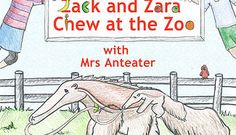 Zack and Zara Chew at the Zoo is a story book that teaches nutrition of healthy fats in avocados in a playful, educational way, when Mrs Anteater and the twins eat avocado and can talk together as if by magic. Lots of animal facts too. Perfect for elementary school classrooms or parents www.ZackandZara.com $19.98 softcover $3.99 E-book
