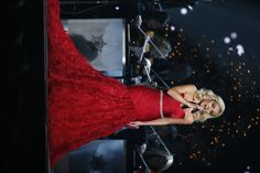 A stunning dress and performance by the beautiful Katherine Jenkins!
