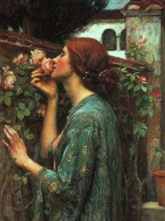 John William Waterhouse The Soul of the Rose 1908