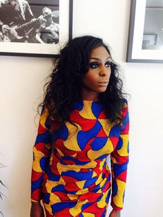 Laura Mvula in Chinelo Bally