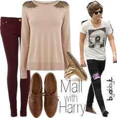 """""""Mall with Harry"""" by abbytamase on Polyvore"""