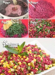 Şalgamlı Bulgur Salatası