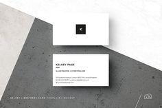 Business Card - Kelsey by bilmaw creative on @creativemarket