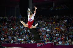 Viktoria Komova on beam at the 2012 Olympics Amazing Gymnastics, Gymnastics Photography, Female Gymnast, Victoria, Contortion, Yoga, Dance, Photos, Photo And Video
