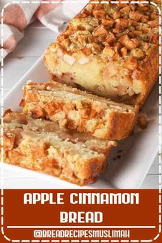Apple Cinnamon Bread This apple bread was a MAJOR hit in the test kitchen. We prefer Granny Smith apples for baking, but feel free to use your favorite. This one definitely belongs in our fall baking hall of fame. Apple Cinnamon Bread, Dutch Apple Bread Recipe, Apple Pie, Baked Cinnamon Apples, Apple Fritter Bread, Cinnamon Pecans, Cinnamon Cake, Pumpkin Bread, Breakfast Crockpot Recipes
