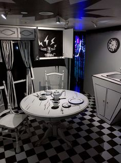 Discover House of Eternal Return in Santa Fe, New Mexico: An immersive environment that is part haunted house, part choose-your-own-adventure, and part jungle gym. Meow Wolf Santa Fe, Casa Halloween, Eternal Return, Interactive Museum, Studio Build, Jungle Gym, Wheel Of Fortune, Vaporwave, Office Interiors