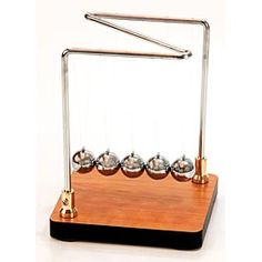 Discover the laws of motion with Newton's Cradle $13.95
