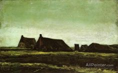 Vincent Van Gogh Farms oil painting reproductions for sale