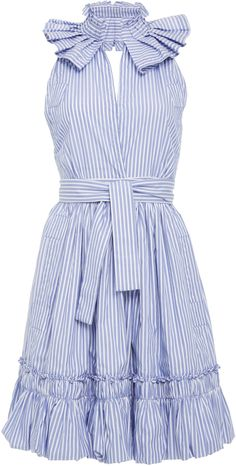 Alexis Briley Ruffle Mini Dress