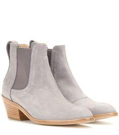 mytheresa.com - Ankleboots Dixon aus Veloursleder - Luxury Fashion for Women / Designer clothing, shoes, bags