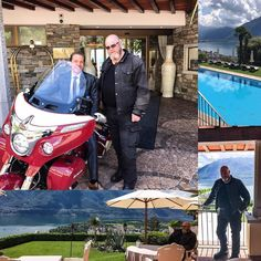 Wonderful place! #hotel #villa #orselina #ticino #switzerland #hotelier #on #motorcycle #indianmotorcycle #indianroadmaster