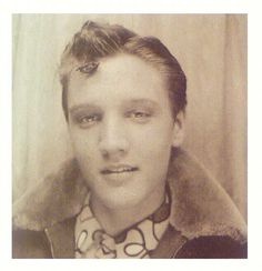 A young Elvis