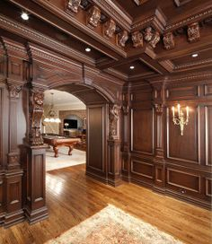 dream house and discovering your own archetypal home Victorian Interiors, Wood Interiors, Home Office Design, House Design, Garden Design, Mansion Interior, Front Door Design, Interior Decorating, Interior Design