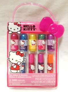 Hello Kitty Lip Jellies  Glosses 9 pcs Set *** Find out more about the great product at the image link.Note:It is affiliate link to Amazon.