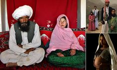The terrifying world of child brides: Devastating images show girls young enough to be in pre-school who are married off to older men      By SNEJANA FARBEROV