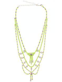 Triple Tier Neon necklace | SHOPETHICA.COM | Ethical Designer Fashion