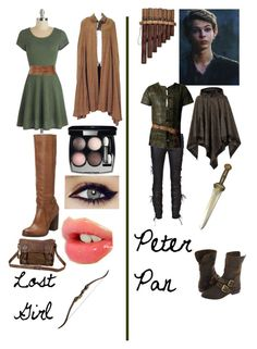 Pan's lost girl: Once Upon A Time Cute Disney Outfits, Disney Themed Outfits, Character Inspired Outfits, Cool Outfits, Disney Clothes, Lost Girl, Peter Pan Outfit, Fandom Fashion, Nerd Fashion