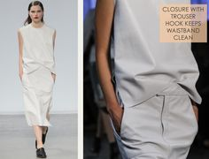 Simple Details at Helmut Lang | The Cutting Class. Helmut Lang, SS14, Image 2