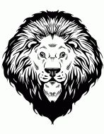 1000 images about lion head ideas on pinterest lion for Lion mask coloring page