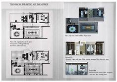 office design process by djames  technical drawing