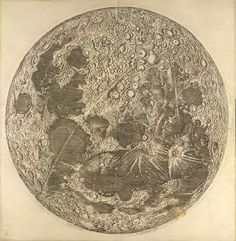 Cassini's Map of the Moon , 1679 This is the first scientific map of the moon, and was produced in Paris by the famous astronomer Giovanni Domenico Cassini Constellations, Moon Map, Scorpio Moon, Moon Landing, Steampunk, Illustrations, Art Plastique, Science And Nature, Modern Art