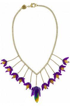 Tatty Devine nightshade tier necklace