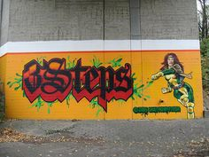 Graffiti - 3Steps - Giessen - Art - X-Men | Flickr - Photo Sharing!