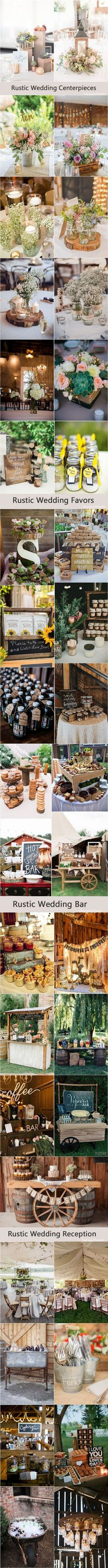rustic country farm wedding decor ideas / http://www.deerpearlflowers.com/rustic-wedding-details-and-ideas/4/
