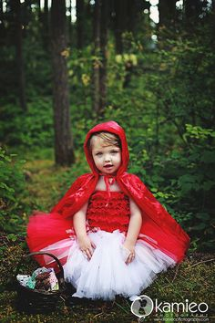 Little Red Riding Hood Tutu Costume
