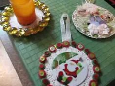 ▶ Create with CD's crafts, Re-purposed, Re-used.. - YouTube