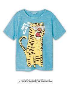 dcde02bc Babies Fashion, Kids Fashion Boy, Graphic Tee Style, Graphic Tees, Cartoon T  Shirts, Boy Clothing, Zoo Animals, Kids Boys, Kids Wear